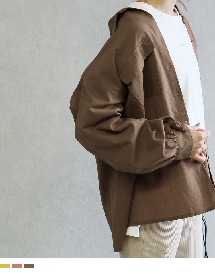 ビッグシルエットシャツ
