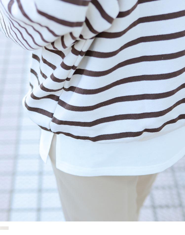 レイヤードロングTシャツ